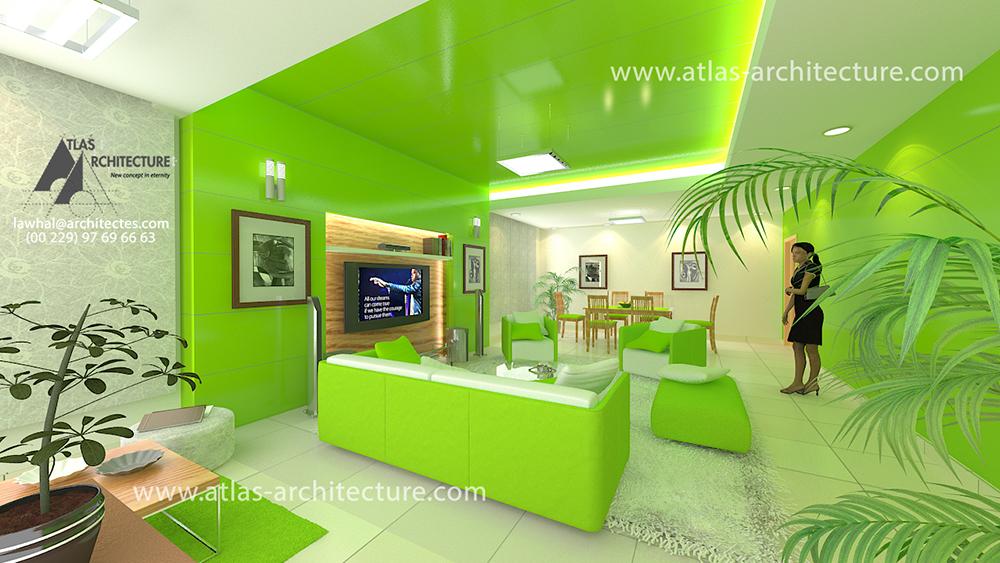 design d espace am nagement int rieur d un s jour pour. Black Bedroom Furniture Sets. Home Design Ideas